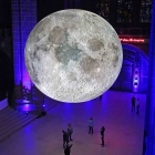 Museum of the Moon by Luke Jerram at Liverpool Anglican Cathedral.Images by Gareth Jones